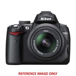 Nikon D5000 + 18-55mm VR   Secondhand