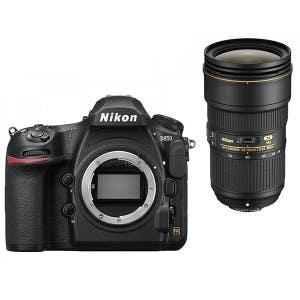 Nikon D850 Body + 24-70mm f2.8 VR Zoom Kit