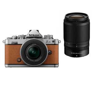 Nikon Z fc + 16-50mm & 50-250mm VR - Tan
