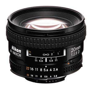 Nikon AF 20mm f2.8 D