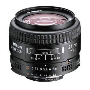Nikon AF 24mm f2.8 D