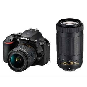 Nikon D5600 + AFP 18-55mm VR & 70-300mm VR