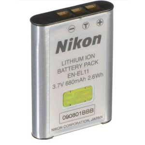 Nikon EN-EL11 Lithium Ion Battery - For Coolpix S550