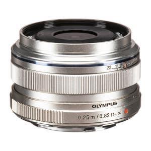Olympus OMD 17mm F1.8 - Silver