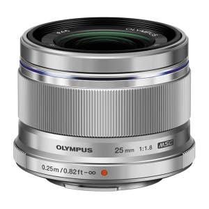 Olympus OMD 25mm F1.8 - Silver