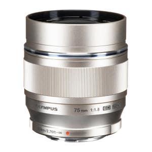 Olympus OMD 75mm f1.8 - Silver