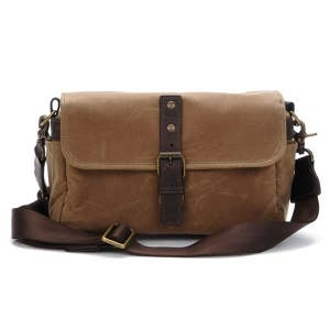 ONA Bowery Canvas Field Tan DSLR Bag