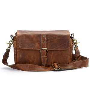 ONA Bowery Leather Antique Cognac DSLR Bag