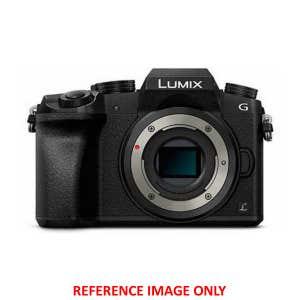 Panasonic Lumix G7 Body Black - Front