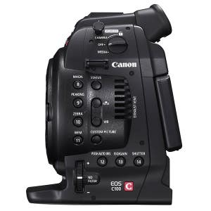 Canon EOS C100 DAF Body + Bonus Atomos Ninja 2