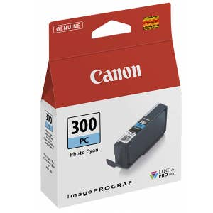 Canon PFI300PC Photo Cyan Ink For PRO300
