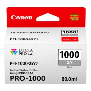Canon PFI-1000GY Grey Ink Tank for Pixma PRO-1000