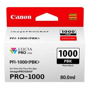Canon PFI-1000PBK Photo Black Ink - Pixma PRO-1000