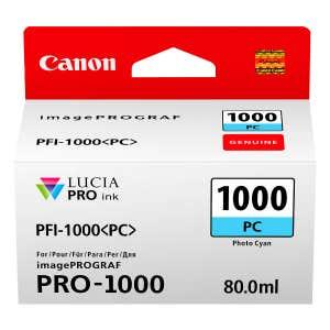 Canon PFI-1000PC Photo Cyan Ink Tank for - PRO-1000