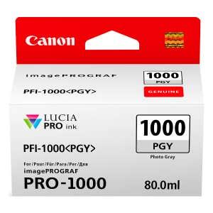 Canon PFI-1000PGY Photo Grey Ink Tank - PRO-1000