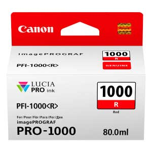 Canon PFI-1000R Red Ink Tank for Pixma PRO-1000