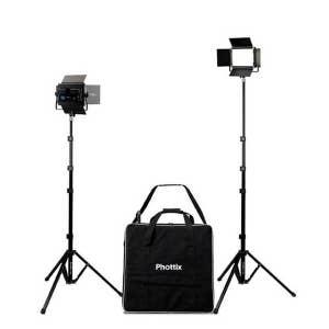 Phottix Kali 50 LED Light Twin Kit