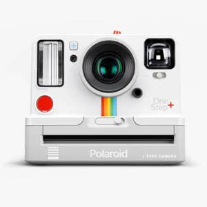 Polaroid OneStep + 600 Instant Camera - White - front