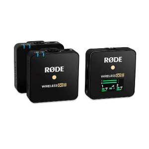 Rode Wireless Go  II Dual Mic system