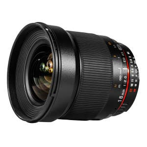Samyang 16mm F2.0 Canon EOS