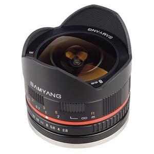 Samyang 8mm Fisheye F2.8 Canon M Black