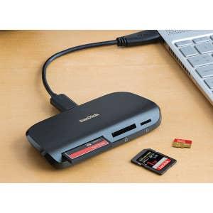 Sandisk Imagemate Pro USB-C Multi Card Reader
