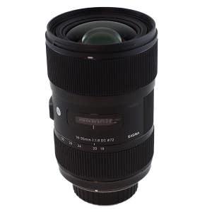 SIGMA AF 18-35mm f1.8 - Nikon