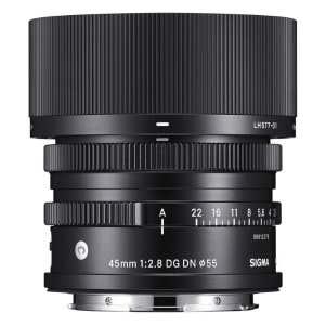 Sigma AF 45mm F2.8 DG DN (C) - Front View
