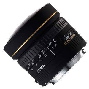 SIGMA 8mm F3.5 EX FISHEYE CIRCULAR Nikon