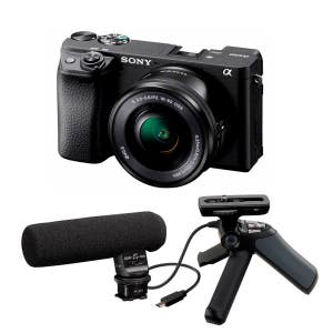 Sony A6400 + 16-50mm - Bloggers Kit
