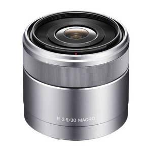 Sony E-Mount 30mm f3.5 Macro