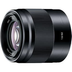 Sony E-Mount 50mm f1.8 Lens Black