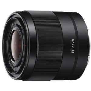 Sony E Mount FE  28mm f2 Lens
