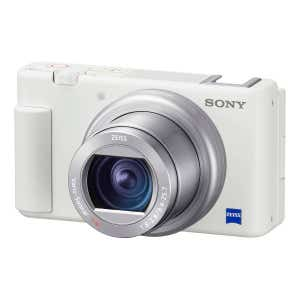 Sony ZV-1 White - front angle