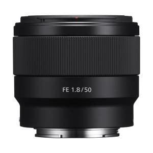 Sony E-Mount 50mm f1.8 FE F Lens