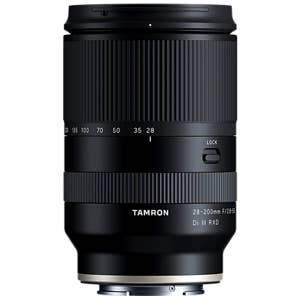 Tamron AF 28-200mm F2.8-5.6 FF DI III RXD - Sony E-Mount