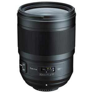 Tokina Opera 50mm f1.4 FF - Front angle