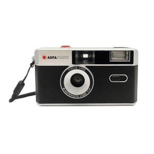 Agfa Retro 35mm Camera w/Flash - Black/Silver