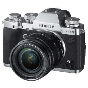 Fujifilm X-T3 + 18-135mm - Silver