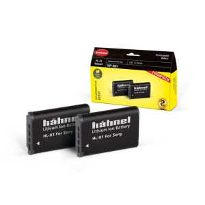 Hahnel Sony NP-BX1 - Twin Pack