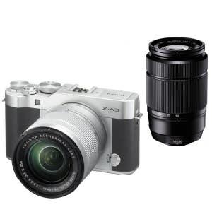 Fujifilm X-A3 + 16-50mm II & 50-230mm - Silver