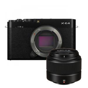 Fujifilm X-E4 + XC 35mm f2 Kit - Black