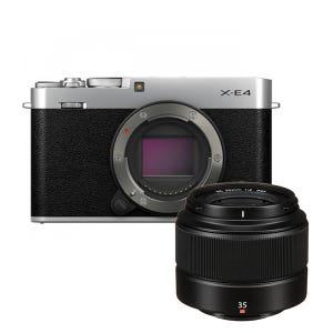 Fujifilm X-E4 + XC 35mm f2 Kit - Silver