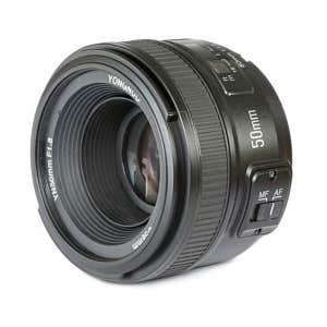Yongnuo YN 50mm f1.8 AF lens - Nikon