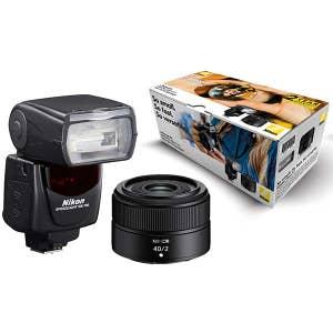 Nikon Z 40mm F2 Lens + SB700 Flash Portrait Kit