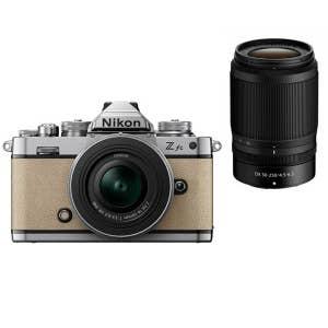 Nikon Z fc + 16-50mm & 50-250mm VR - Beige