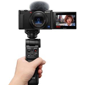Sony ZV-1 Black & GP-VT2 Grip - Vlog Kit