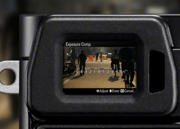 Sony A6000 Viewfinder