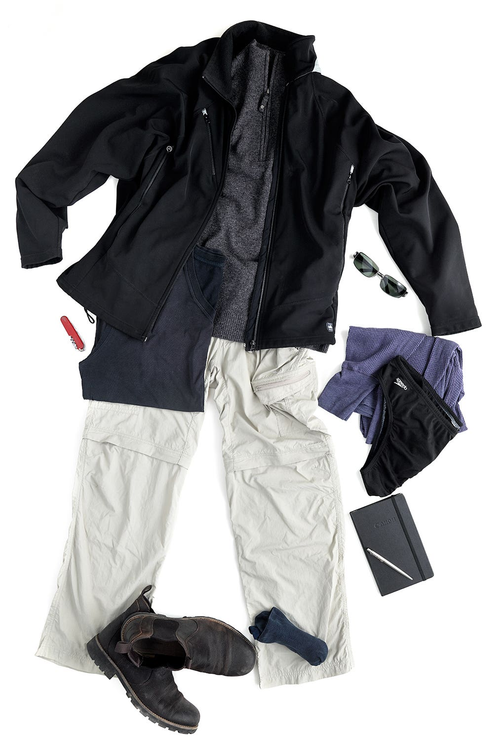 Ric's Travel Clothes (speedos optional)