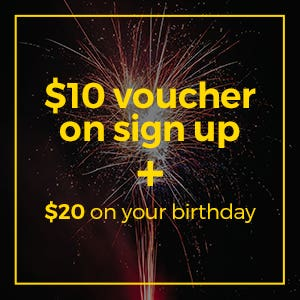 ClubTed $10 Signup Voucher